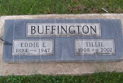 BUFFINGTON, EDDIE E. - Sioux County, Iowa | EDDIE E. BUFFINGTON