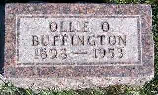 BUFFINGTON, OLLIE O. - Sioux County, Iowa | OLLIE O. BUFFINGTON