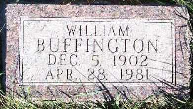 BUFFINGTON, WILLIAM - Sioux County, Iowa | WILLIAM BUFFINGTON