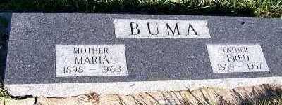 BUMA, FRED - Sioux County, Iowa | FRED BUMA