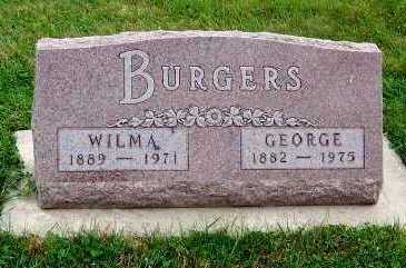 BURGERS, GEORGE - Sioux County, Iowa | GEORGE BURGERS