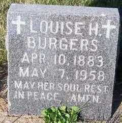 BURGERS, LOUISE H. - Sioux County, Iowa | LOUISE H. BURGERS