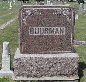 BUURMAN, HEADSTONE - Sioux County, Iowa | HEADSTONE BUURMAN