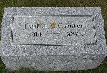 CAMBIER, FRANKLIN J. - Sioux County, Iowa | FRANKLIN J. CAMBIER