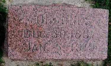 CANNEGIETER, JOHANNES - Sioux County, Iowa | JOHANNES CANNEGIETER
