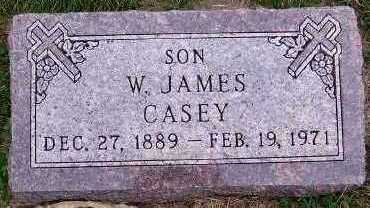 CASEY, W. JAMES - Sioux County, Iowa | W. JAMES CASEY