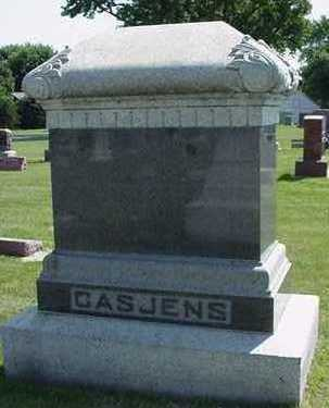 CASJENS, HEADSTONE - Sioux County, Iowa | HEADSTONE CASJENS