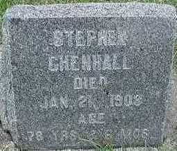 CHENHALL, HEADSTONE - Sioux County, Iowa | HEADSTONE CHENHALL