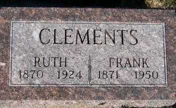 CLEMENTS, FRANK - Sioux County, Iowa | FRANK CLEMENTS