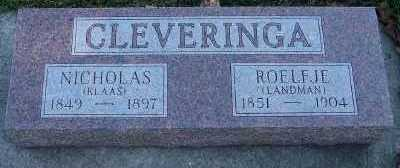 CLEVERINGA, NICHOLAS (KLAAS) - Sioux County, Iowa | NICHOLAS (KLAAS) CLEVERINGA