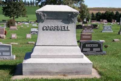 COGSWELL, HEADSTONE - Sioux County, Iowa   HEADSTONE COGSWELL