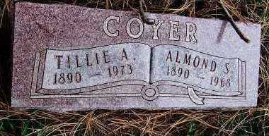 COYER, TILLIE A. - Sioux County, Iowa | TILLIE A. COYER