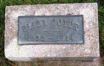 COYER, ELIZA - Sioux County, Iowa | ELIZA COYER