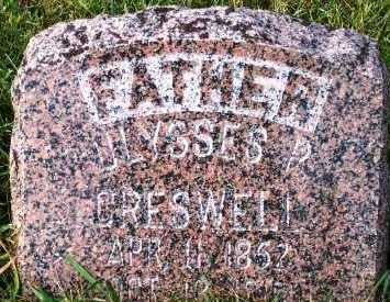 CRESWELL, ULYSSES P. - Sioux County, Iowa | ULYSSES P. CRESWELL