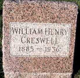 CRESWELL, WILLIAM HENRY - Sioux County, Iowa | WILLIAM HENRY CRESWELL