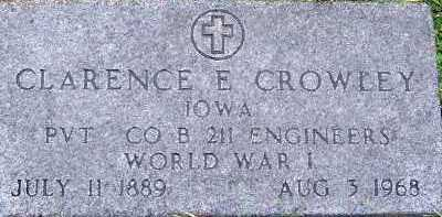 CROWLEY, CLARENCE E. - Sioux County, Iowa | CLARENCE E. CROWLEY