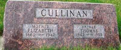 CULLINAN, THOMAS - Sioux County, Iowa | THOMAS CULLINAN