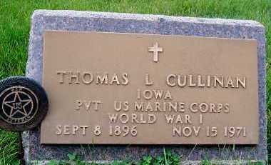 CULLINAN, THOMAS L. - Sioux County, Iowa | THOMAS L. CULLINAN