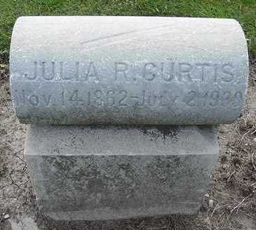 CURTIS, JULIA R. - Sioux County, Iowa | JULIA R. CURTIS
