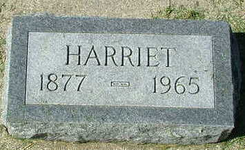 DANIELS, HARRIET - Sioux County, Iowa | HARRIET DANIELS