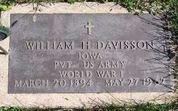 DAVISSON, WILLIAM H. - Sioux County, Iowa | WILLIAM H. DAVISSON