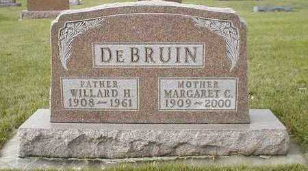 DEBRUIN, MARGARET CHRISTINE - Sioux County, Iowa | MARGARET CHRISTINE DEBRUIN