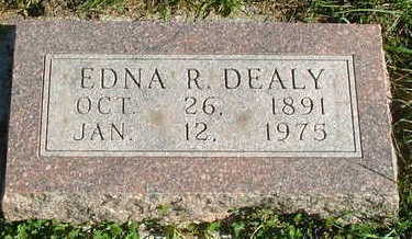 DEALY, EDNA R. - Sioux County, Iowa | EDNA R. DEALY