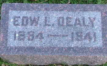 DEALY, EDW. L. - Sioux County, Iowa | EDW. L. DEALY