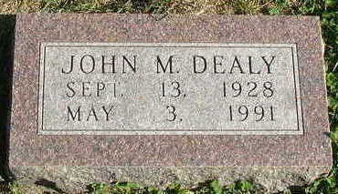 DEALY, JOHN M. - Sioux County, Iowa | JOHN M. DEALY