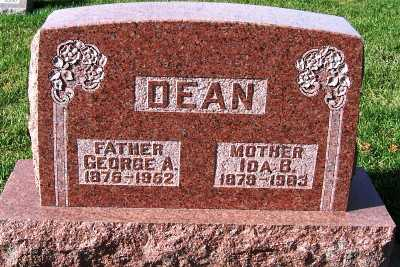 DEAN, GEORGE A. - Sioux County, Iowa | GEORGE A. DEAN