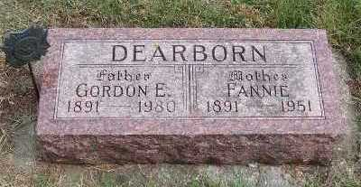 DEARBORN, FANNIE - Sioux County, Iowa | FANNIE DEARBORN
