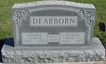 DEARBORN, IVOR L. - Sioux County, Iowa | IVOR L. DEARBORN