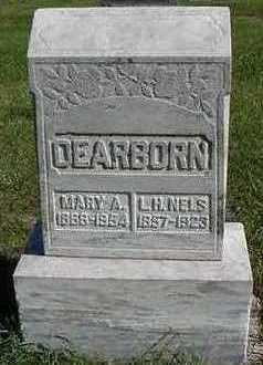 DEARBORN, MARY A. (MRS. L.H. NELS) - Sioux County, Iowa | MARY A. (MRS. L.H. NELS) DEARBORN