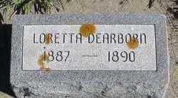 DEARBORN, LORETTA - Sioux County, Iowa | LORETTA DEARBORN