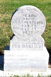 DEARBORN, PEARL (DAU OF G. & F.) - Sioux County, Iowa | PEARL (DAU OF G. & F.) DEARBORN