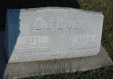 DEBOER, ART - Sioux County, Iowa | ART DEBOER