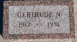 DEBOER, GERTRUDE N. - Sioux County, Iowa | GERTRUDE N. DEBOER