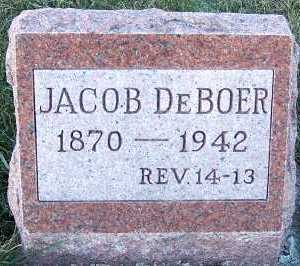 DEBOER, JACOB - Sioux County, Iowa | JACOB DEBOER