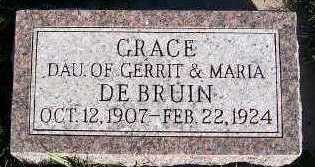 DEBRUIN, GRACE - Sioux County, Iowa | GRACE DEBRUIN