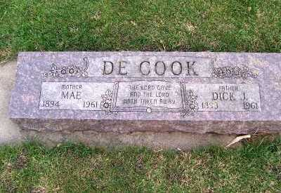 DECOOK, DICK J. - Sioux County, Iowa | DICK J. DECOOK