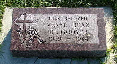 DEGOOYER, VERYL DEAN - Sioux County, Iowa | VERYL DEAN DEGOOYER
