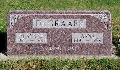 DEGRAAFF, FRANK J. - Sioux County, Iowa | FRANK J. DEGRAAFF