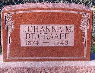 DEGRAAFF, JOHANNA M. - Sioux County, Iowa | JOHANNA M. DEGRAAFF