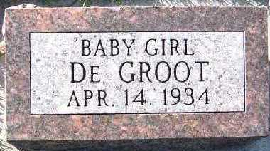 DEGROOT, BABY GIRL - Sioux County, Iowa | BABY GIRL DEGROOT