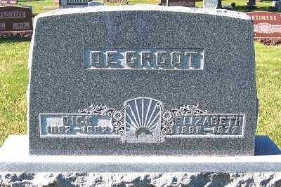 DEGROOT, ELIZABETH - Sioux County, Iowa | ELIZABETH DEGROOT
