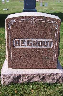 DEGROOT, HEADSTONE - Sioux County, Iowa | HEADSTONE DEGROOT