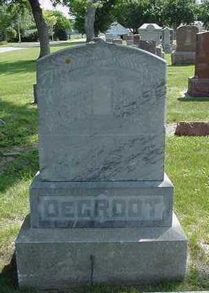 DEGROOT, HEADSTONE - Sioux County, Iowa | HEADSTONE DEGROOT