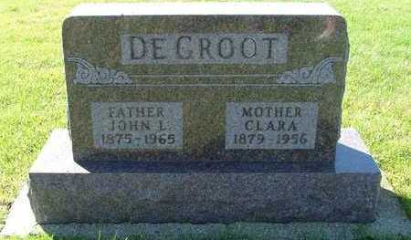 DEGROOT, CLARA (MRS. JOHN L.) - Sioux County, Iowa | CLARA (MRS. JOHN L.) DEGROOT