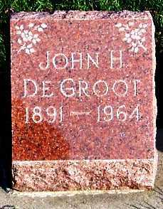 DEGROOT, JOHN H. - Sioux County, Iowa | JOHN H. DEGROOT