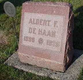 DEHAAN, ALBERT  F. - Sioux County, Iowa | ALBERT  F. DEHAAN